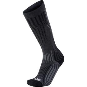 UYN Kaschmir Ski Socken Herren grey rock/black